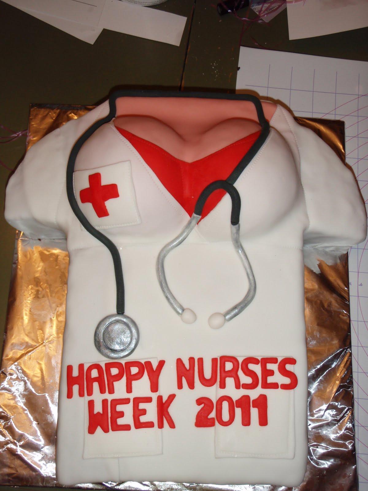 Happy Nurses Week Cake