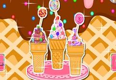 Ice Cream Cone Cupcakes Games Online