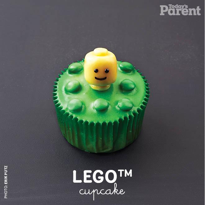 LEGO Cupcake Decorating Ideas