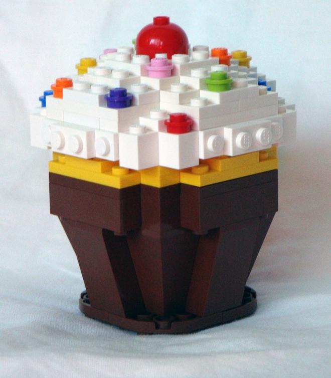 LEGO Cupcake Ideas