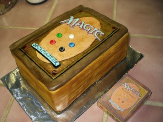 Magic Card Birthday Cake