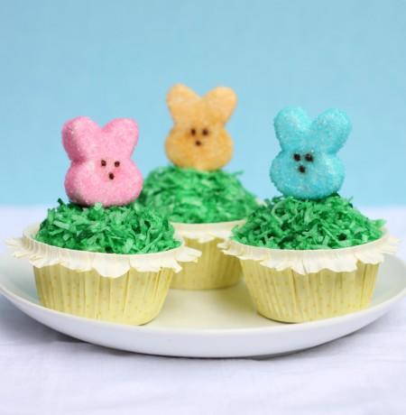 Marshmallow Peep Cupcakes