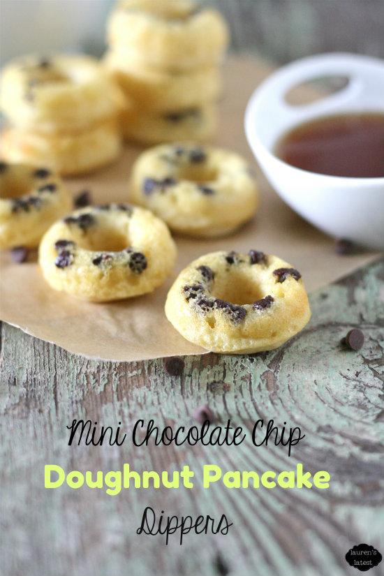 Mini Donuts Chocolate Chip Pancake