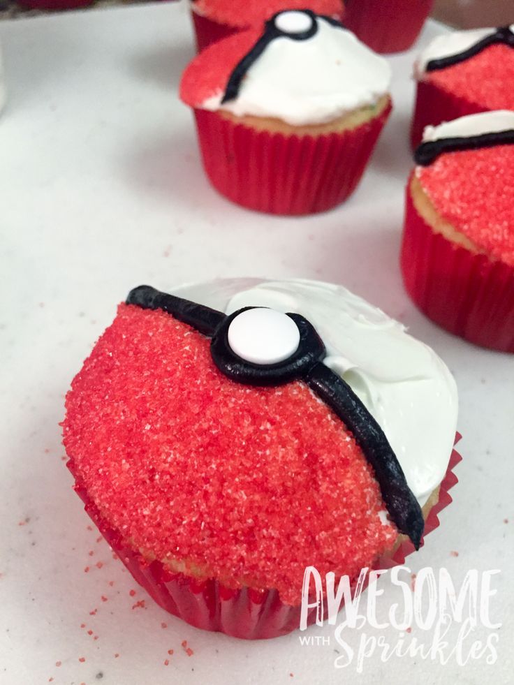 Pinterest Cupcake Pokemon Balls