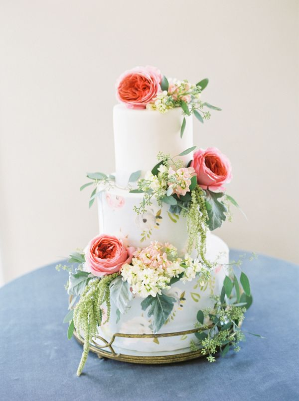 Pinterest Wedding Cakes with Flowers