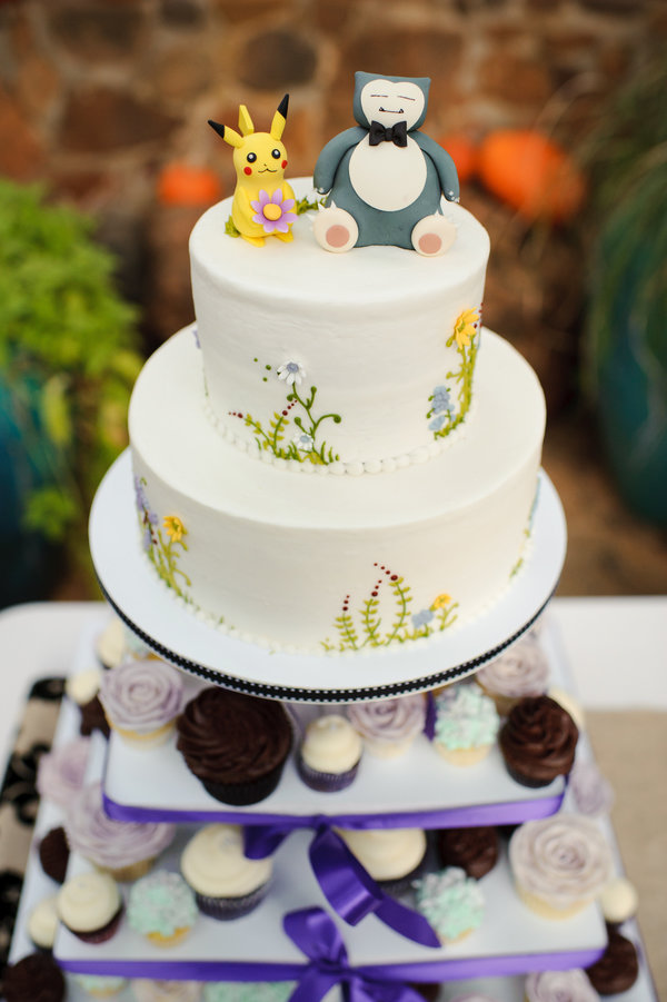 Pokemon Wedding Cake
