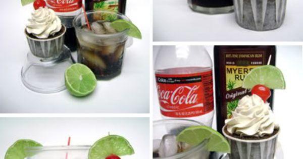 Rum and Coke Cupcakes