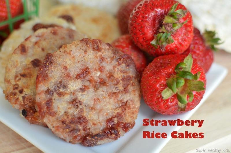 Strawberry Rice Cakes