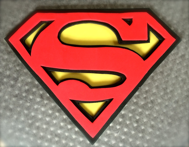 Superman Edible Cake Topper