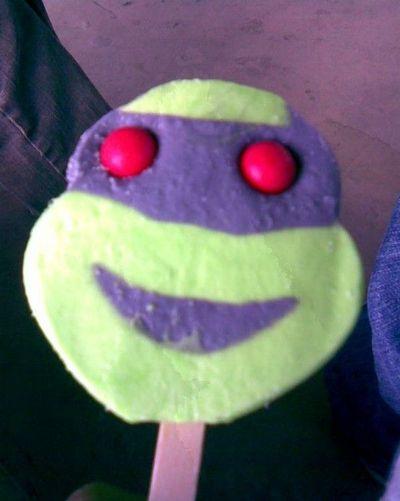 Teenage Mutant Ninja Turtle Ice Cream