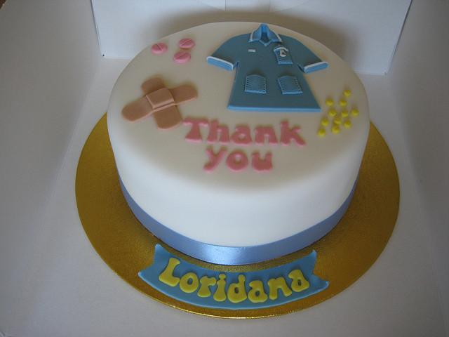 Thank You Nurse Cake