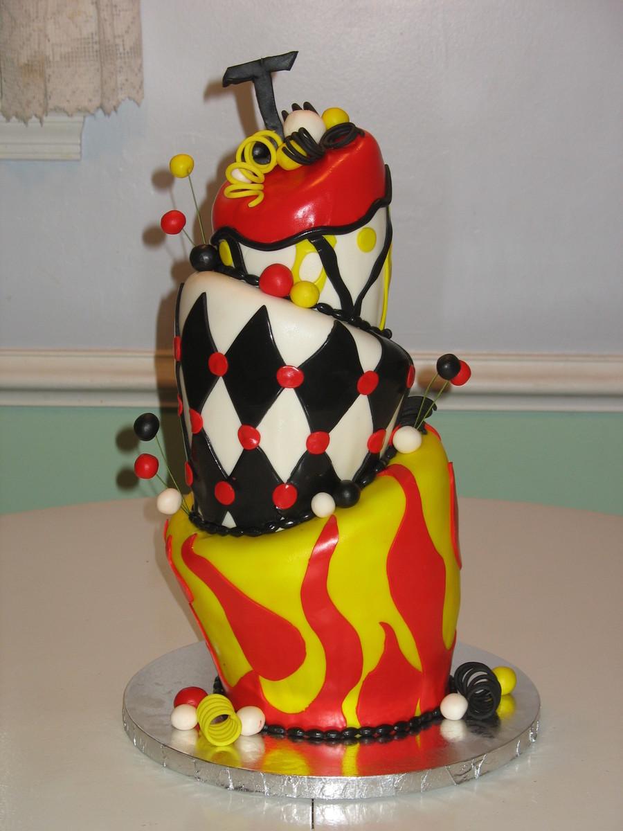 Topsy Turvy Cakes No Fondant