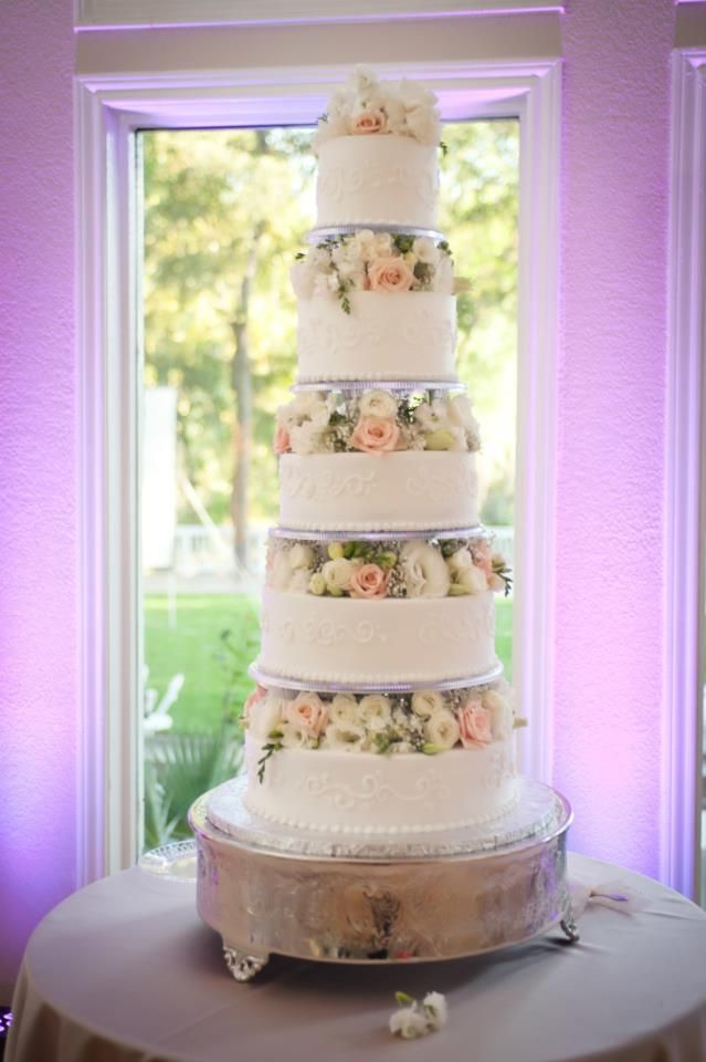 Wedding Cakes Tiers Stands