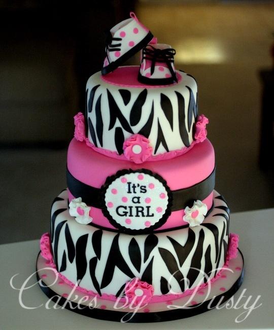 Zebra Baby Shower Cake Ideas