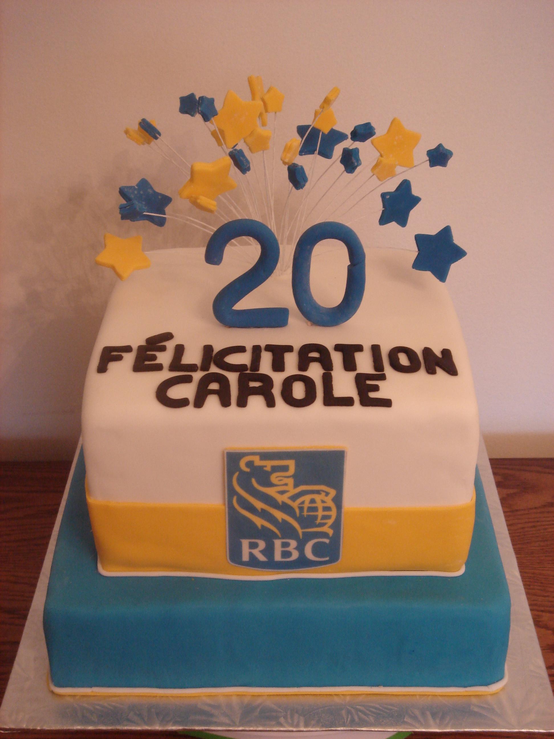 10 Year Work Anniversary Cake Ideas