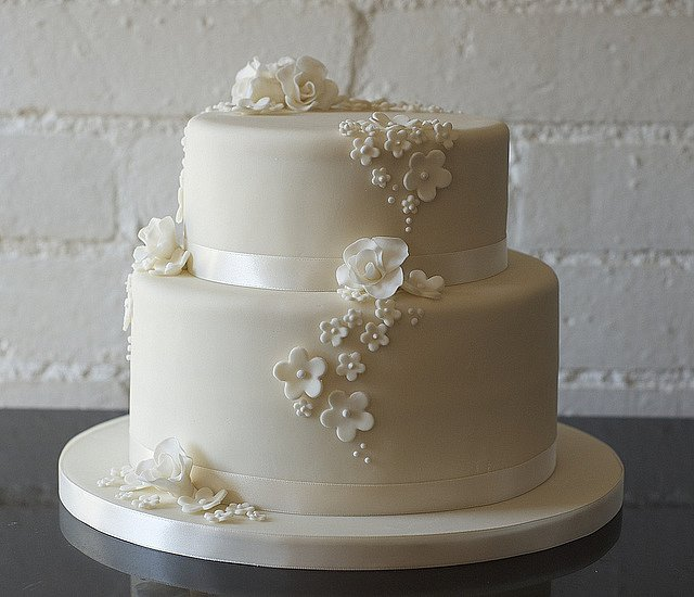 2 Tier Wedding Cake Ideas