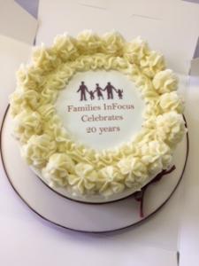 20 Year Anniversary Cake