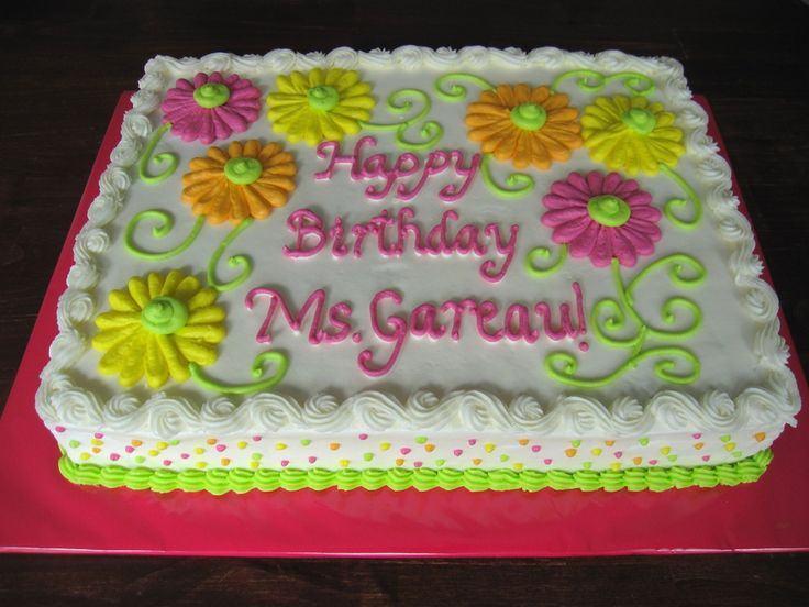 30th Birthday Sheet Cake Ideas