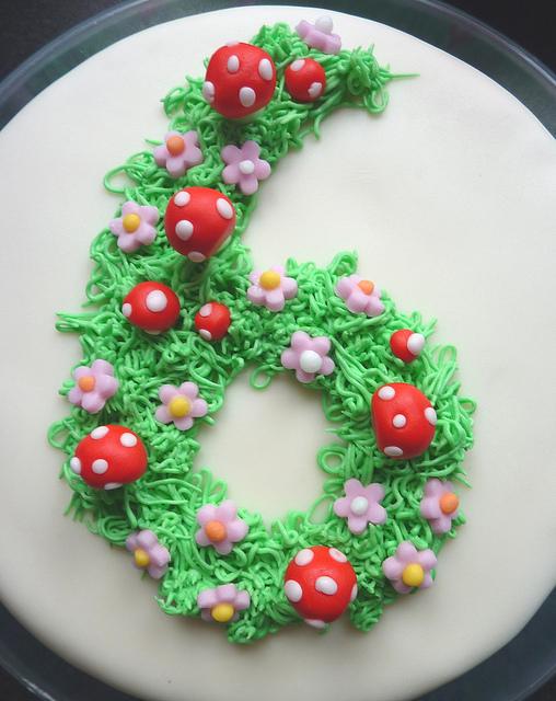 6th Birthday Cake Ideas