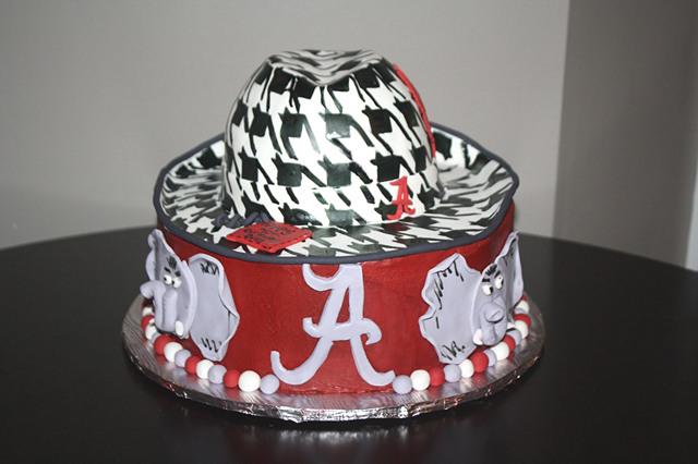Alabama Birthday Cake
