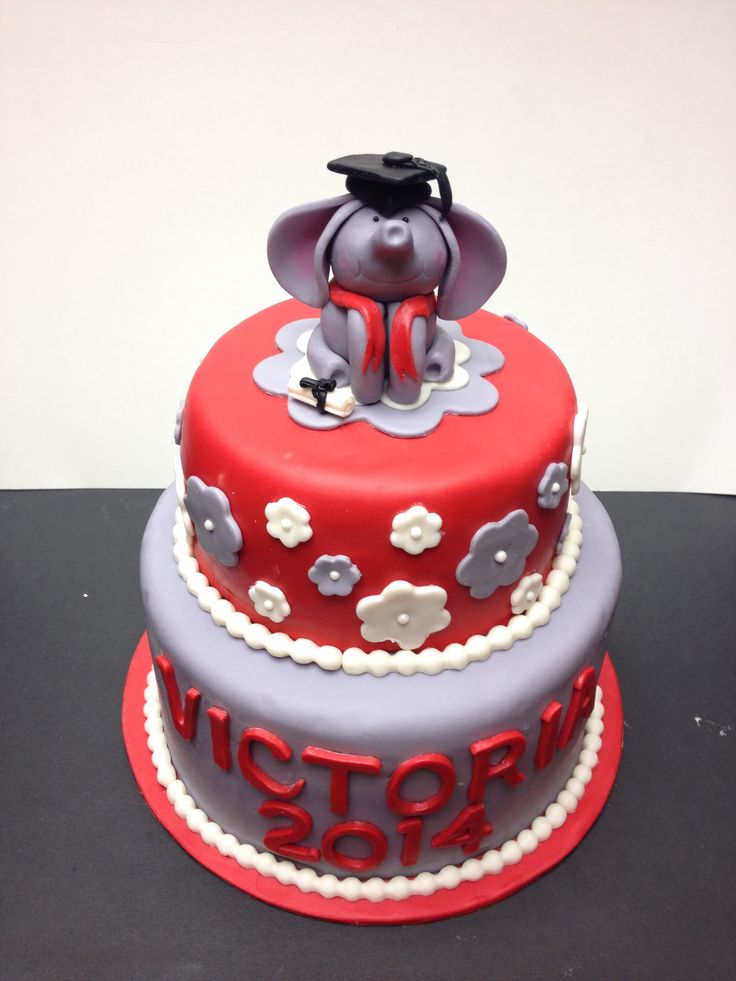 13 Photos of University Of Alabama Graduation Cakes