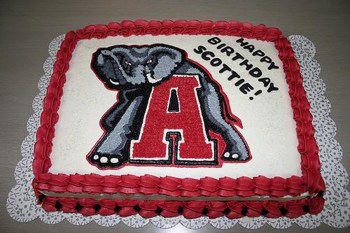Alabama Crimson Tide Cake
