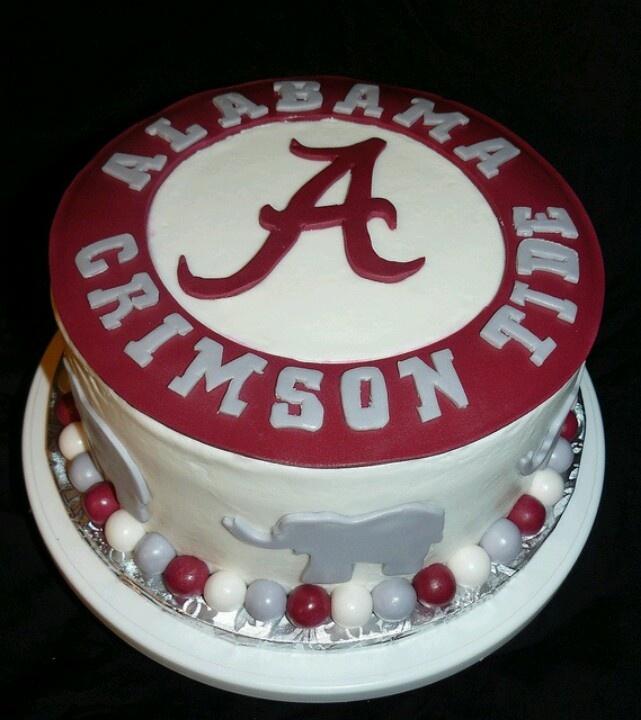 Alabama Roll Tide Birthday Cakes