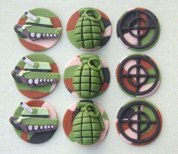 Army Cupcakes Ideas