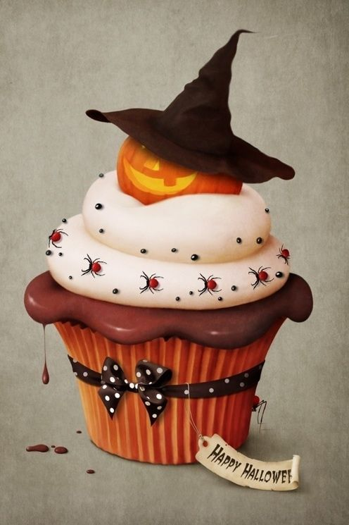 Awesome Halloween Cupcake