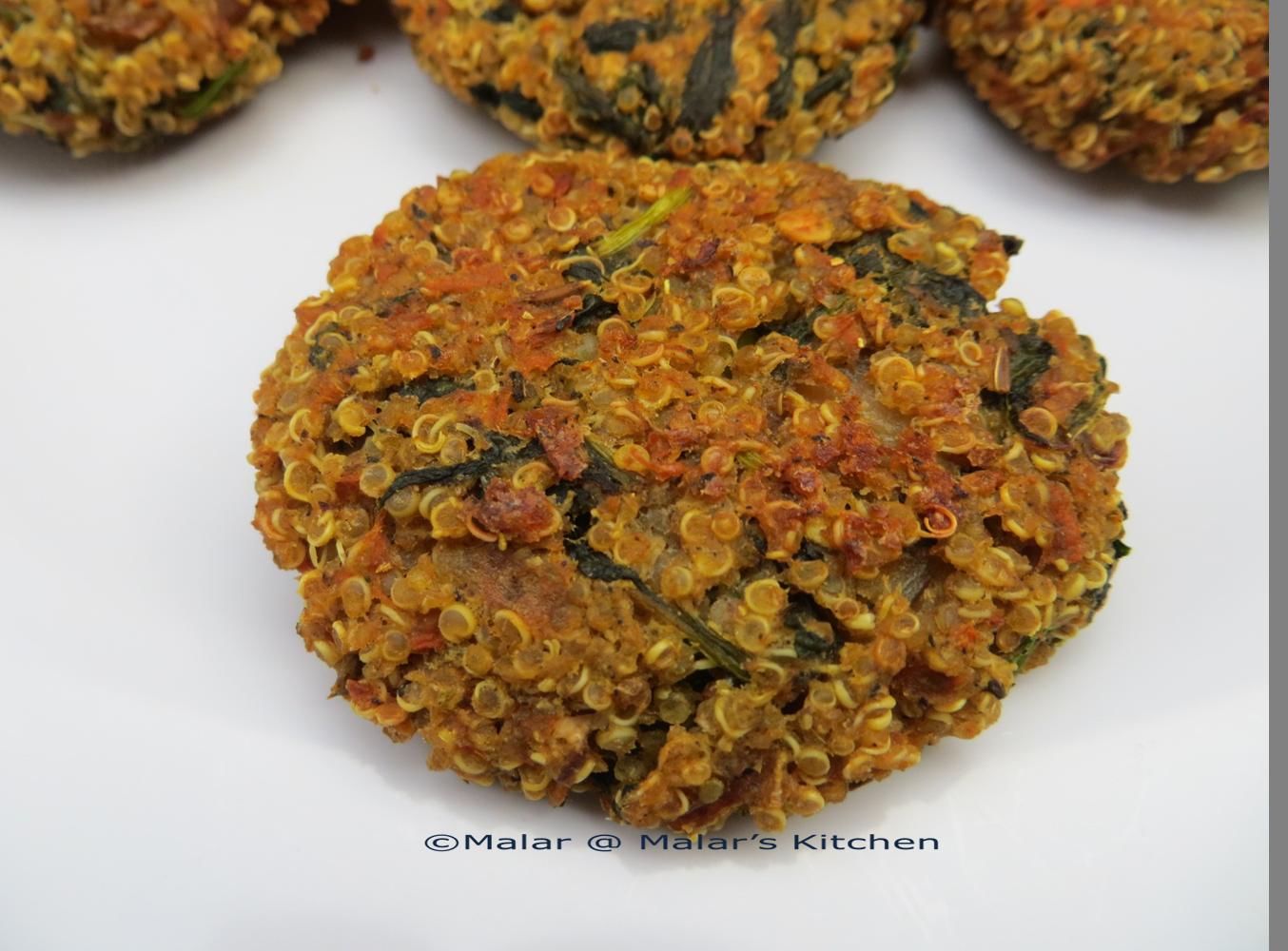 Baked Quinoa Patties