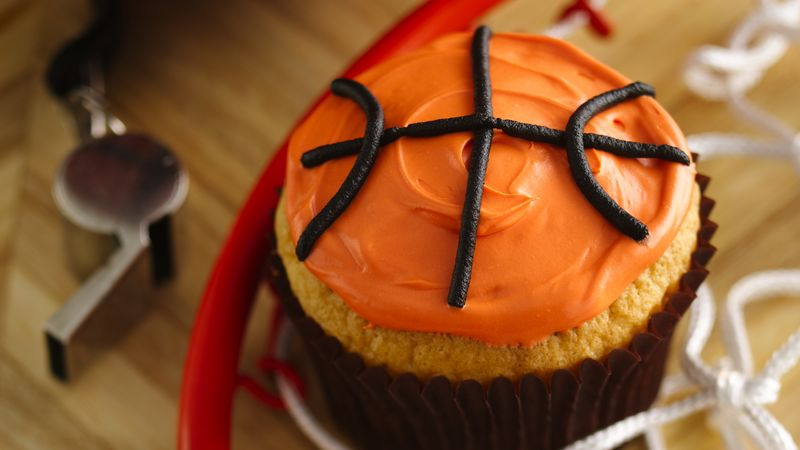 Basketball Cupcakes Recipes