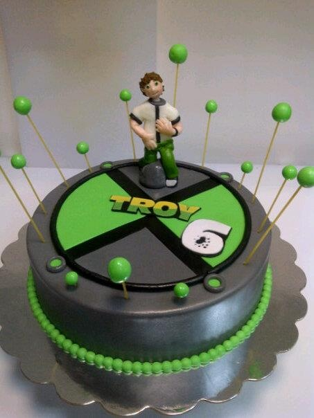 Ben 10 Cakes Birthday Cake