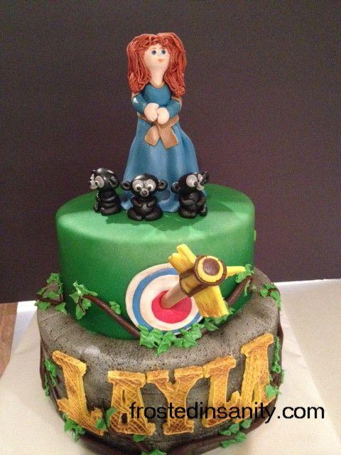 Brave Birthday Cake