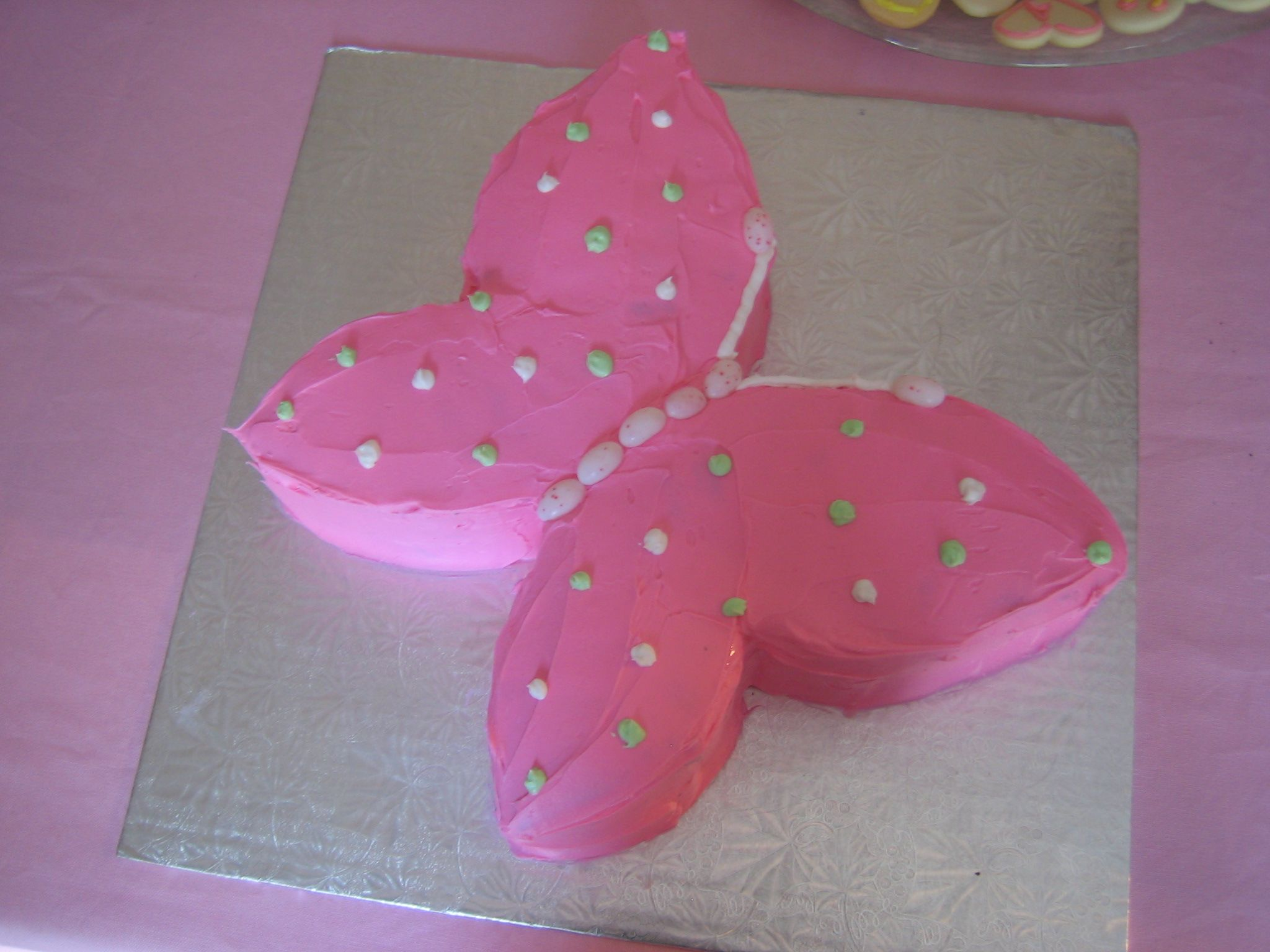 Butterfly Birthday Cake Idea