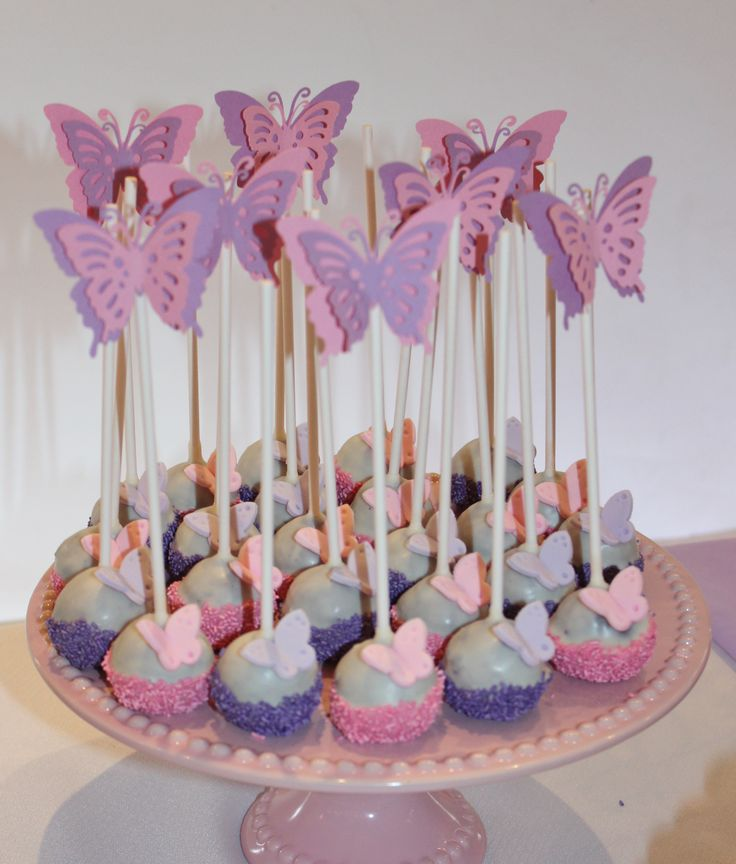 Butterfly Birthday Party Cake Ideas