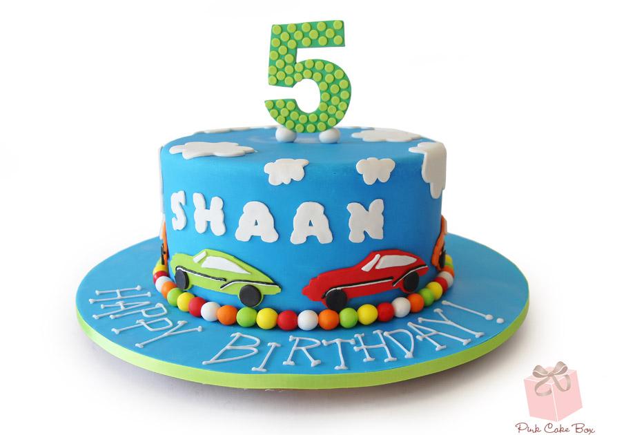 Cars Birthday Cakes for Boys