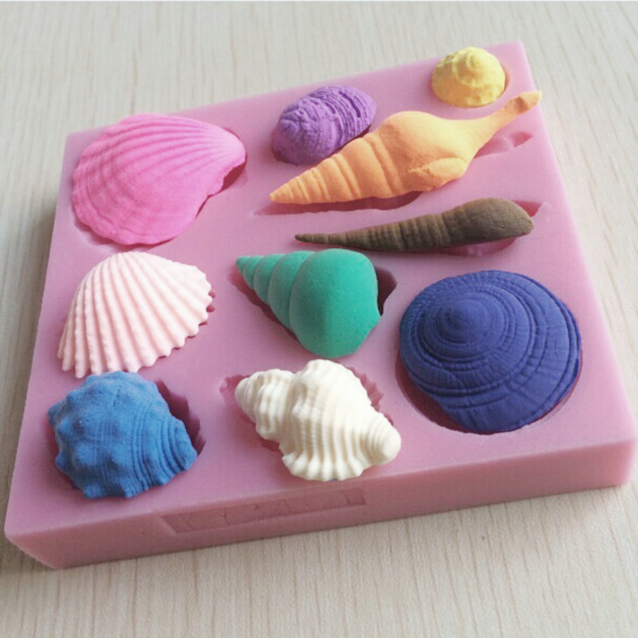 Chocolate Seashell Candy Molds