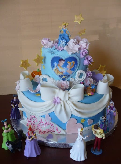 12 Photos of Cinderella Bakery Cakes