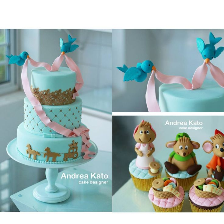 Cinderella Birthday Cakes Cupcakes