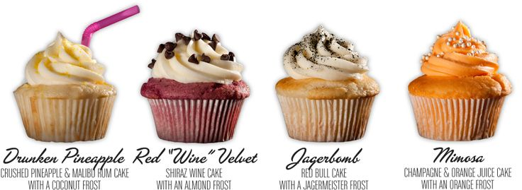 Cupcakes with Alcohol