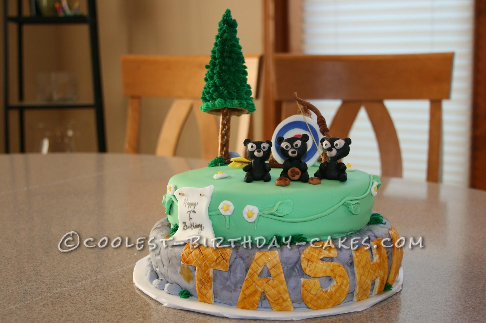Disney Brave Birthday Cake Ideas