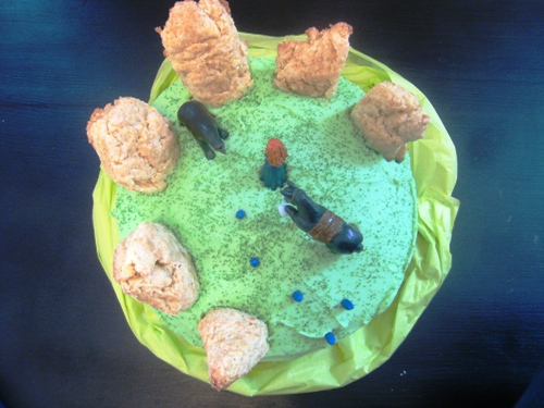 Disney Brave Merida Birthday Cake