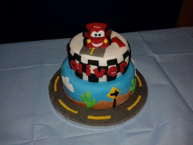 Disney Cars 1st Birthday Cake Ideas