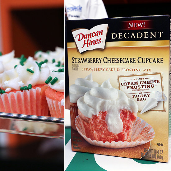 Duncan Hines Decadent Strawberry Cheesecake Cupcake Images