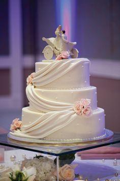 Elegant Fairy Tale Wedding Cake