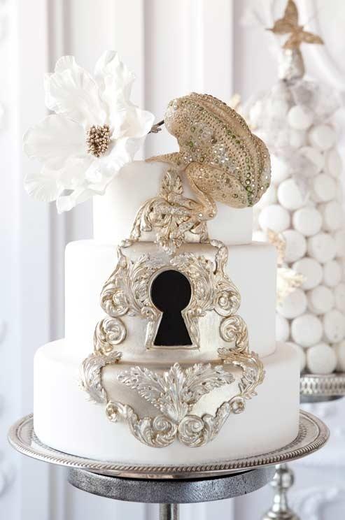 Frog Prince Wedding Cake