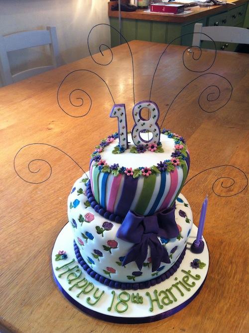 Funky 18th Birthday Cakes