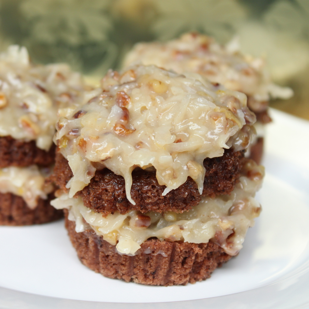 8 Photos of German Chocolate Cupcakes With Coconut Frosting