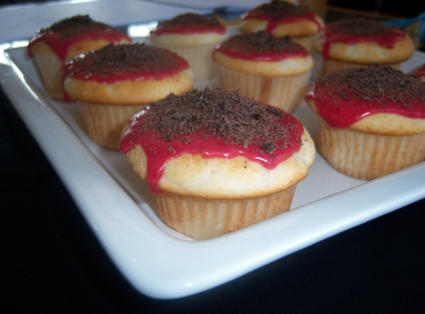Giada Chocolate Raspberry Bars