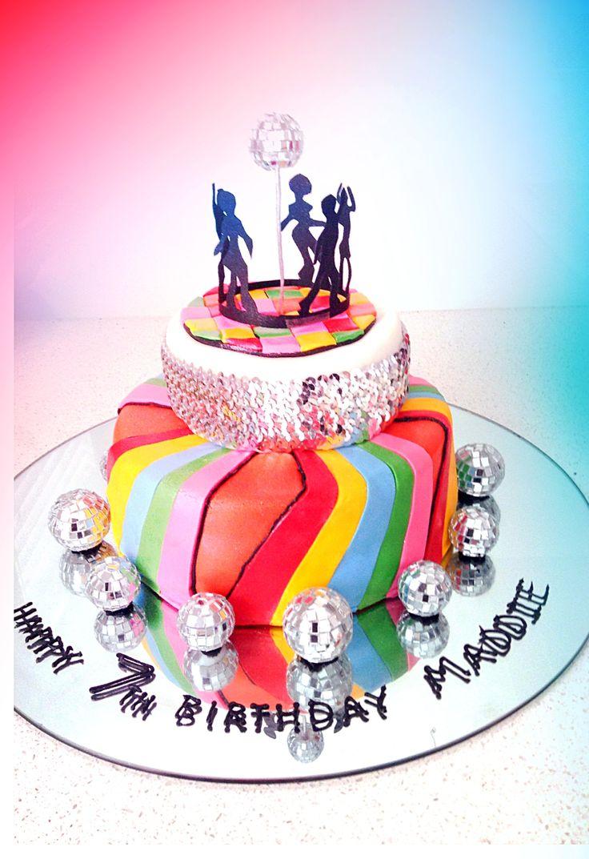 Girls 7th Birthday Cake